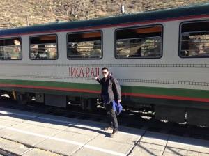 Treno per Machu Picchu