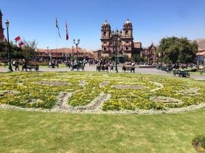 Plaza das Armas e Iglesia de la Compania