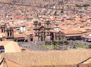 Plaza das Armas dall'alto