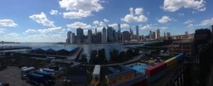 New York Skyline da Brooklyn Heights