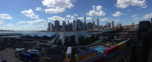 New York Skyline da Brooklyn Heights