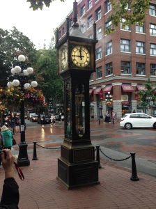 Orologio a vapore. Gastown