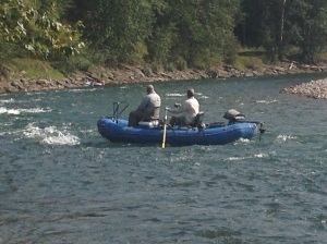 Pesca sull'Elk River
