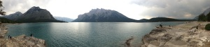 Lake Minnewanka. Banff National Park