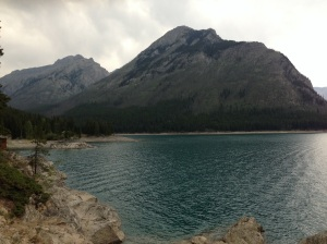Minnewanka Lake. Banff