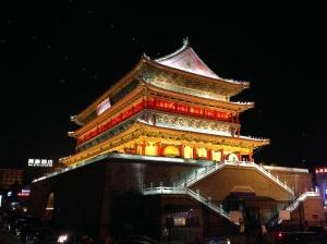 Xi'an: torre del Tamburo