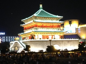 Xi'an: torre della campana
