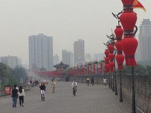 Xi'an: le mura della città