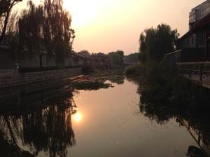 Pechino: tramonto