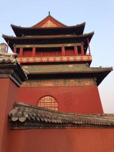 Pechino: torre del tamburo