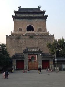 Pechino: torre della campana