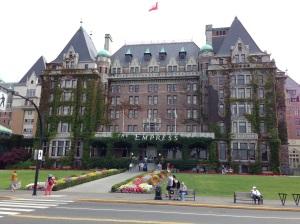 Victoria. Empress Hotel