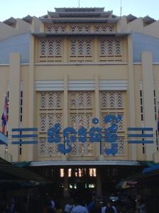 Phnom Penh: il mercato coperto