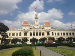 Palazzo del comitato del Popolo. Saigon