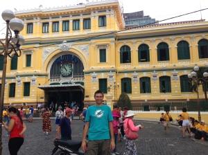 Posta Centrale. Saigon