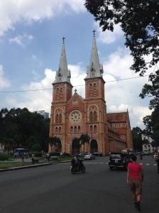Chiesa di Notre Dame. Saigon
