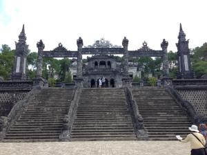 Hue, tomba di Khai Dinh