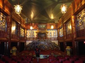 Hue, la cittadella imperiale, il teatro
