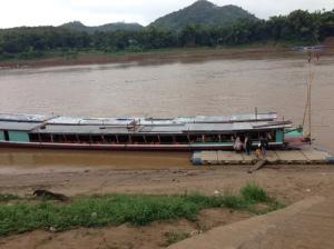 Il nostro mezzo di trasporto sul Mekong