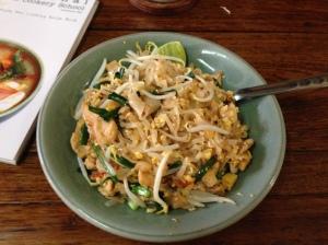 Qui si cucina...! Pad Thai!